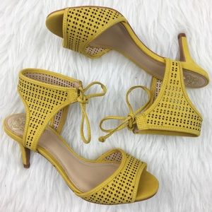 Vince Camuto | Kanara Leather Laser Cut Heels